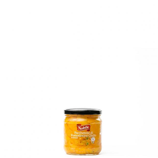 Pacchetelle di pomodorino giallo al naturale 350g